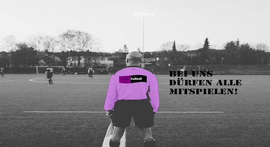 Dürfen wirklich alle mitspielen? Homosexualität im Fußball Foto: (c) Jan Duensing