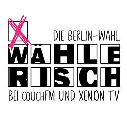 Aktuell: Wahlsondersendung von XEN.ON TV und couchFM, die Ausbildungssender des Medieninnovationszentrum Babelsberg, am 09.09.2016 ab 15 Uhr mit allen Spitzenkandidaten!